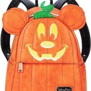 Mickey Mouse Pumpkin Mini Backpack